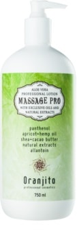 Oranjito Massage Pro Massage Milk With Aloe Vera