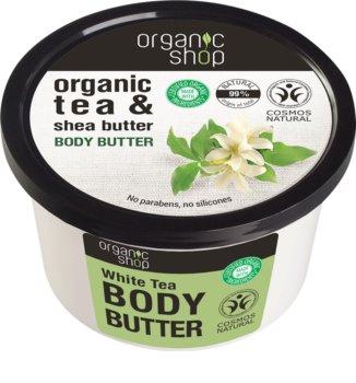 Organic Shop Organic Tea & Shea Butter intenzívne hydratačné telové maslo