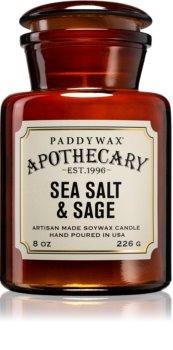 Paddywax Apothecary Sea Salt & Sage vonná svíčka