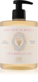 Panier des Sens Renewing Grape sapone liquido per viso, mani e corpo