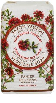Panier des Sens Red Thyme povzbudzujúce rastlinné mydlo