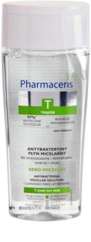 Pharmaceris T-Zone Oily Skin Sebo-Micellar lozione micellare detergente per pelli problematiche, acne