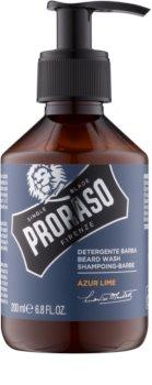 Proraso Azur Lime shampoo per barba