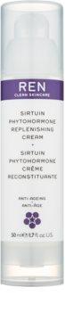 REN Sirtuin Phytohormone hydratační a posilující pleťový krém pro zralou pleť