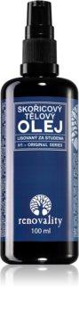 Renovality Original Series škoricový telový olej lisovaný za studena