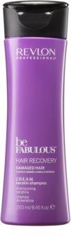 Revlon Professional Be Fabulous Hair Recovery Cremiges Shampoo für sehr trockenes Haar