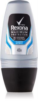 Rexona Maximum Protection Clean Scent guličkový antiperspirant pre mužov