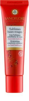 Sanoflore Sublimes baies rouges crema colorata idratante