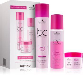 Schwarzkopf Professional BC Bonacure pH 4,5 Color Freeze dárková sada I. (pro barvené vlasy) pro ženy