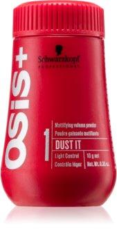 Schwarzkopf Professional Osis+ Dust It Texture púder pohlcujúci mastnotu ľahké spevnenie