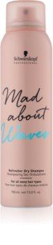 Schwarzkopf Professional Mad About Waves shampoo secco per capelli mossi