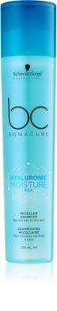 Schwarzkopf Professional BC Bonacure Hyaluronic Moisture Kick Mizellen-Shampoo für trockenes Haar