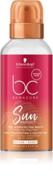 Schwarzkopf Professional BC Bonacure Sun Protect ochranná hmla pre vlasy namáhané chlórom, slnkom a slanou vodou
