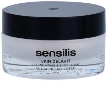 Sensilis Skin Delight crema illuminante e rivitalizzante antirughe SPF 15