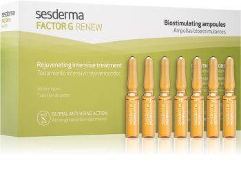 Sesderma Factor G Renew trattamento rigenerante di 7 giorni in fiale