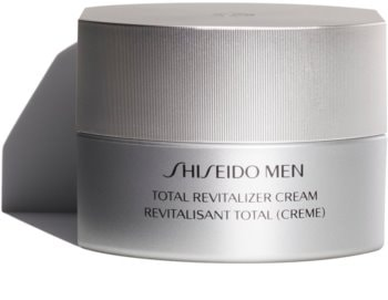 Shiseido Men Total Revitalizer Cream revitalizačný a obnovujúci krém proti vráskam