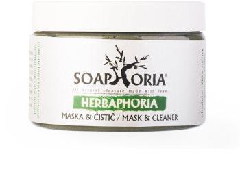 Soaphoria Herbaphoria maschera naturale viso
