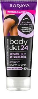 Soraya Body Diet 24 výživný balzám proti celulitidě
