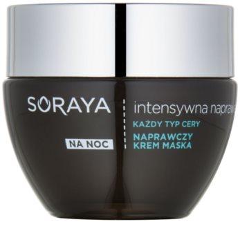 Soraya Intensive Repair maschera in crema rigenerante notte