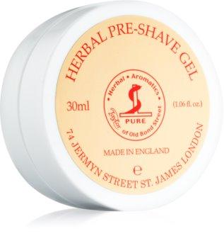 Taylor of Old Bond Street Herbal gel pre-rasatura