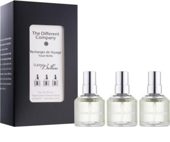 The Different Company Sublime Balkiss parfumovaná voda unisex 3 x 10 ml (3x náplň s rozprašovačom)