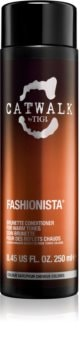 TIGI Catwalk Fashionista Conditioner for Warm Shades of Brown Hair