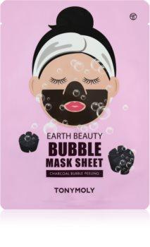 TONYMOLY Earth Beauty Bubble čisticí pleťová maska