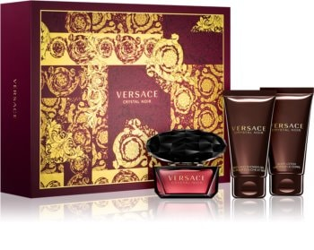 Versace Crystal Noir dárková sada XIX. pro ženy