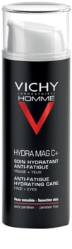 Vichy Homme Hydra-Mag C trattamento idratante antistanchezza viso e contorno occhi