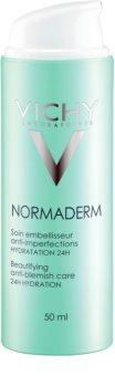 Vichy Normaderm skrášľujúci hydratačný fluid pre dospelých so sklonom k nedokonalostiam pleti 24h