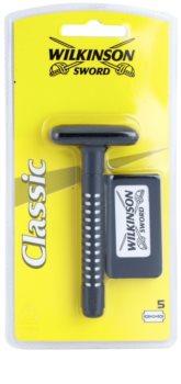 Wilkinson Sword Classic Rasierer + Rasierklingen 5 pc