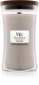 Woodwick Wood Smoke vonná sviečka s dreveným knotom