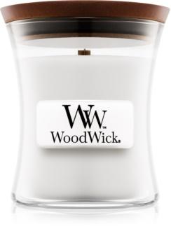 Woodwick Magnolia vonná sviečka s dreveným knotom