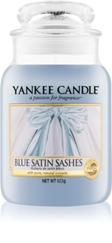Yankee Candle Blue Satin Sashes vonná sviečka Classic veľká