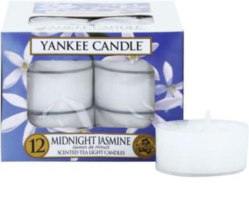 Yankee Candle Midnight Jasmine čajová sviečka 12 x 9,8 g