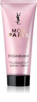 Yves Saint Laurent Mon Paris telové mlieko pre ženy