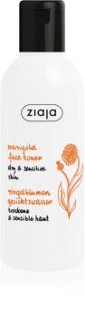 Ziaja Marigold lozione tonica viso per pelli secche e sensibili