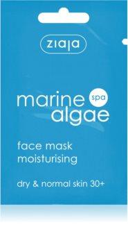 Ziaja Marine Algae maschera idratante per pelli normali e secche