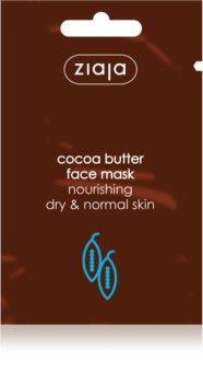 Ziaja Cocoa Butter maschera idratante e nutriente
