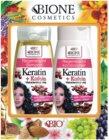 Bione Cosmetics Keratin Kofein Kosmetiikkasetti I. Naisille