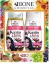 Bione Cosmetics Keratin Kofein kozmetični set I. za ženske