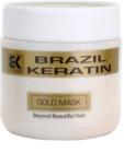 Brazil Keratin Gold keratynowa maska regenerująca do włosów zniszczonych