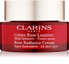 Clarins Rose Radiance Cream Super Restorative відновлюючий денний крем проти зморшок