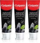 Colgate Natural Extracts Charcoal + White bleichende Zahnpasta mit Aktivkohle