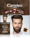 Delia Cosmetics Cameleo Men еднократна боя за прикирване на бели коси