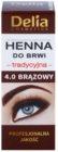Delia Cosmetics Henna Brow Color