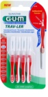 G.U.M Trav-Ler escovas interdentais 4 pcs