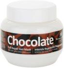 Kallos Chocolate mascarilla regeneradora para cabello seco y dañado