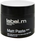 label.m Complete Matt pasta för definition och form