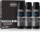 L'Oréal Professionnel Homme Cover 5' βαφή για τα μαλλιά με χρώμα 3 τεμ